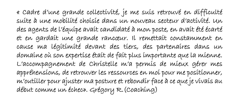 Témoignage coaching Quimper 3